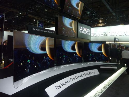 LG The Worlds First Curved 3D OLED TV
