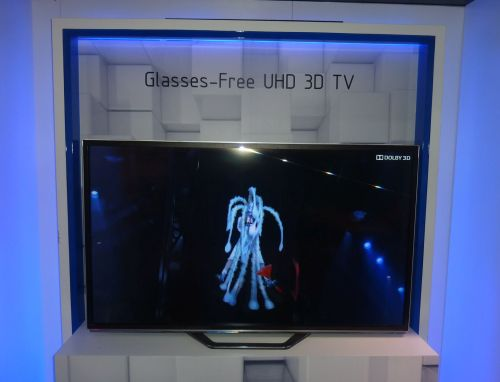Changhong 65-inch Glasses Free UHD 3D TV